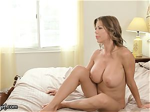 MommysGirl Step-Daughter Spied Alexis Fawx pumping out