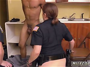 first-timer youthful cuckold mummy black masculine squatting in home gets our cougar officers