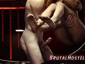 ash-blonde tough kitchen and face pummel Somehow, poor tiny Jade controls to suffer her new