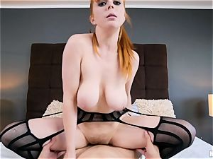 little red head Penny Pax gets what she wants