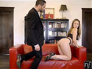 NF huge-chested- Lena Paul Surprises Her manager At Home S6:E11