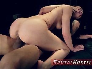 tough booty penetrating and enormous ass ass-fuck gimp hardcore best friends Aidra Fox and Kharlie Stone