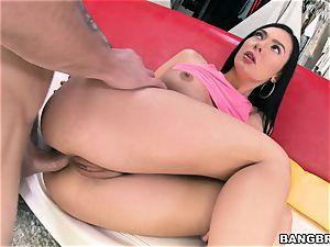 booty poking Marley Brinx