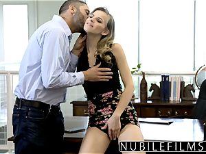 NubileFilms - Office cockslut boinked Till She dumps