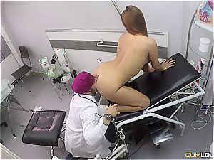 Spanish ginger-haired gets a deep puss check-up
