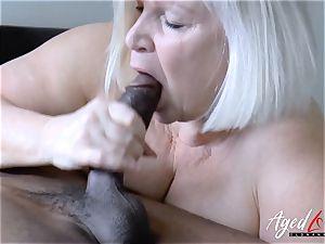 AgedLovE Lacey Starr bi-racial hard-core fuck-a-thon