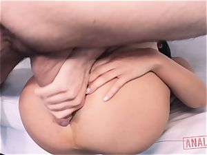 asian stunner Marica Hase hungers it up the ass-hole