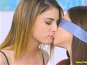 super-naughty minge tonguing lesbos Shyla Jennings and Kristen Scott