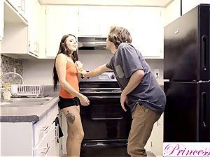PrincessCum - Step sis Makes step-brother spunk inwards Her