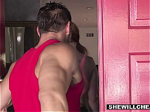 SheWillCheat - sizzling curvy wife romping individual Trainer