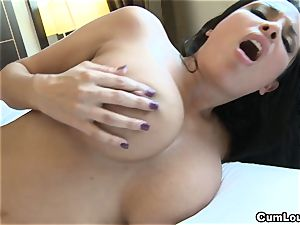 Anissa Kate flashing her immense congenital breasts in Public