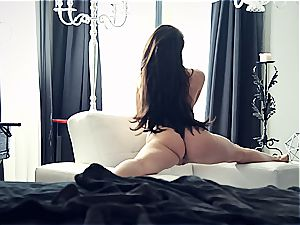 youthfull sex industry star Lana Rhoades is impressive