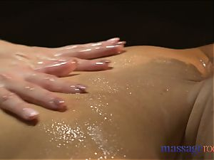 massage rooms towheaded girly-girl milfs with gigantic fun bags