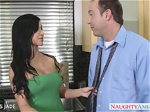 tatted jewels Jade banging firm