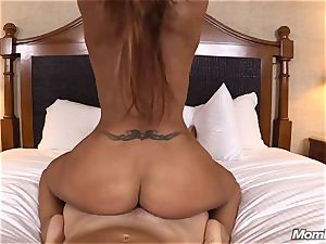 red-hot Latina unexperienced cougar first timer