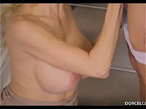 Lonely widow Alexis Fawx needs love and man's weasel