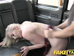 faux cab good plow rectal fuck-a-thon and enormous facial cumshot for towheaded