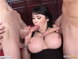 drunk mummy Eva Karera with yam-sized boobs indulges on the party