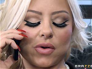 torrid Headmistress Britney Shannon gets her forearms on a crazy schoolgirl