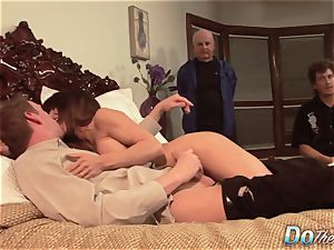 fantastic Jenla Moore tears up while her spouse sees