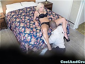 Spying on a hotwife ditzy