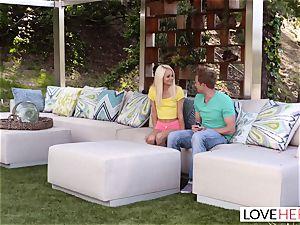 LoveHerFeet - molten blondie Gives a red-hot sole shag