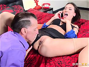 Kalina Ryu torn up by her chief as she converses to her bf