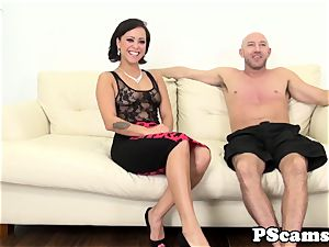 Livechat undergarments babe Mia Austin doggystyled