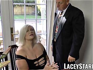 LACEYSTARR - horniest grannie analled before money-shot