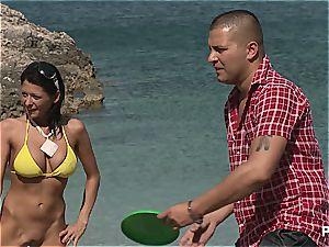 insatiable gang fuck-fest tournament on the beach part 1
