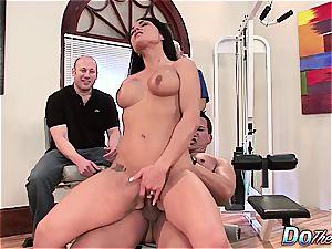 sumptuous brunette wifey loves assfuck