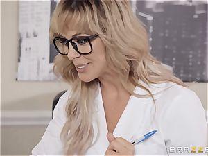 Cherie Deville enjoys frolicking medic