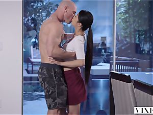 VIXEN youthful asian student Has sultry fuck-fest With Neighbor