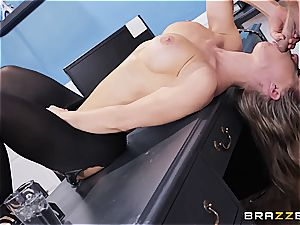 Nicole Aniston is the perfect mischievous assistant in an office romping episode