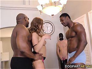 Skylar Snow bi-racial hotwife Sessions