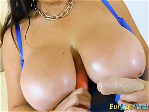 EuropeMaturE huge-chested Mature Lulu round and ample udders