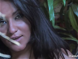 huge-boobed Charley haunt is kinky for the harvest