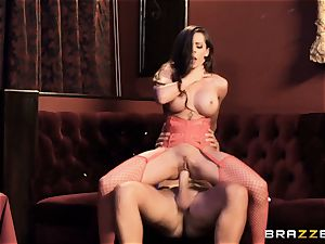 eager trunk longing Madison Ivy poked in her minge