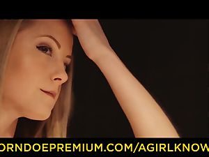 A female KNOWS - lady on lady softcore dream lovemaking
