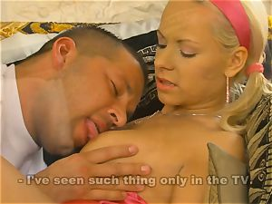 super-steamy blondie Lily Pinkerton being smashed firm