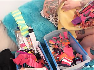 Behind the scenes with tattooed starlet Christy Mack