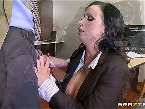 molten lawyer Nikki Benz getting drilled by a enormous spear