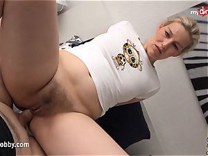 My sloppy hobby - big-chested afternoon anal invasion