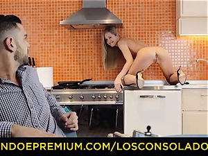 LOS CONSOLADORES - scorching casting with Hungarian Sicilia