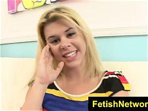 FetishNetwork Elizabeth Bentley in nylon