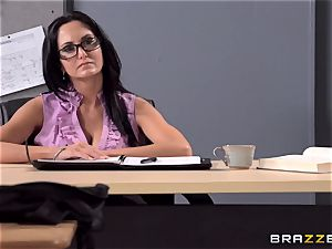 big-chested instructor Ava Addams is humped by her schoolgirl