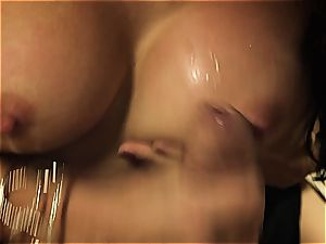 Katsuni gets her cock-squeezing honeypot porked