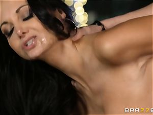 Ava Addams gets a packing from the pool man