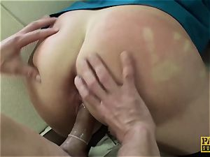 PASCALSSUBSLUTS - Spicy ginger-haired Bree Branning harshly drilled